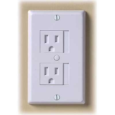 Electrical Outlet Plate 3 G Pk