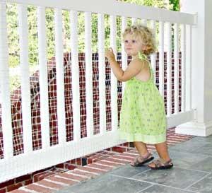 Balcony Railnet 3 X 10 1 Ea Child Proof Advice